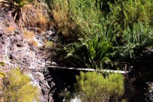 Brücke über den Barranco