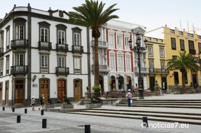 Plaza de Santa in der Altstadt von Las Palmas de Gran Canaria