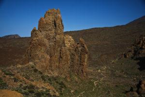 """die """"Cathedral"""" und der Wanderweg durch die Ucanca Ebene"""