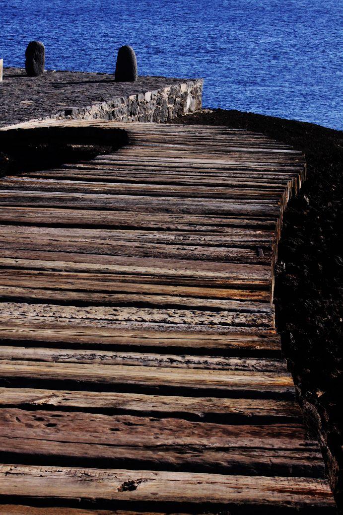 neu angelegte Holzstege an der Punta de Teno