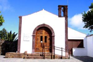 Kirche in Teno Alto - Ausgangspunkt der Wanderung