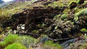 Ruinen im Barranco Seco