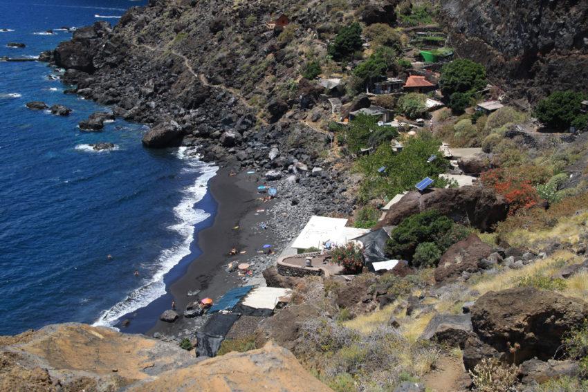 Sicht auf die Playa de la Veta