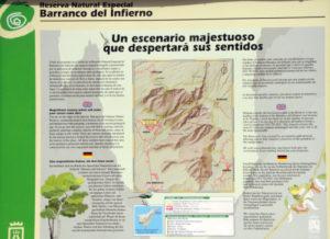 Naturschutzgebiet - barranco del Infierno