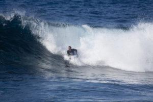 Surfer zwischen Puerto de Santiago und Alcalá