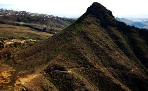 Roque Imoque vom Roque de los Brezos aus gesehen