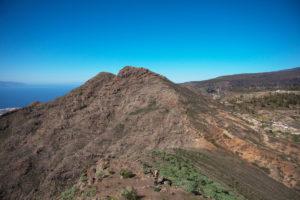 Blick vom Roque Imoque auf den Roque de los Brezos