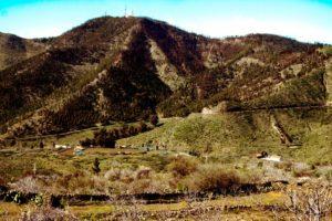 "Blick auf den ""Antennenberg"" - Montana de lo Hoya"