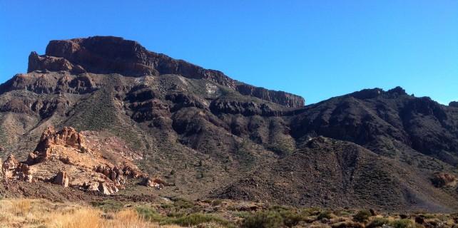 das beeindruckende Felsmassiv des Guajara