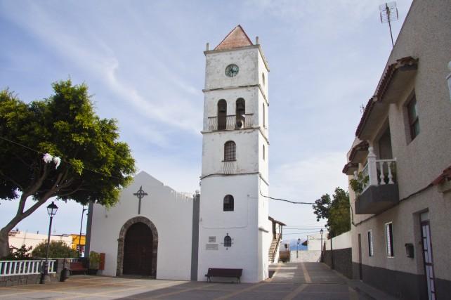 Kirchplatz in San Juan del Reparo