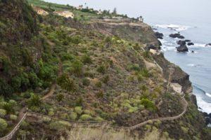 gut angelegter Küstenwanderweg
