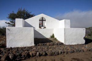 Kapelle am Startpunkt über Valle Arriba