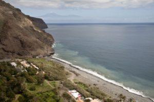 Blick auf Playa del Cabrito