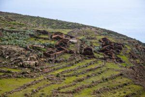 die verlassenen Häuser von Morales