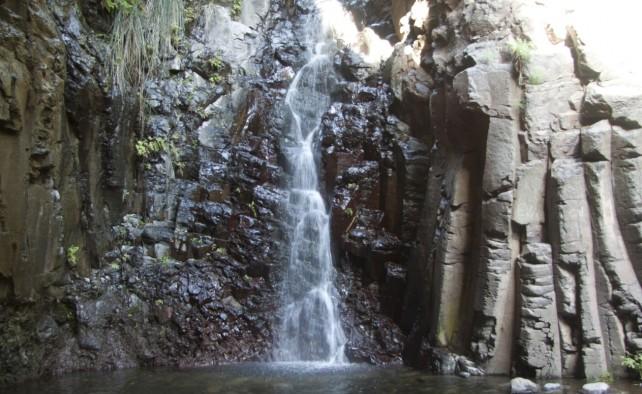 unser Ziel: der Wasserfall im Barranco de Arure