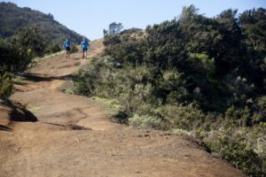 Wandern auf dem Kammweg derCumbre de Chijeré