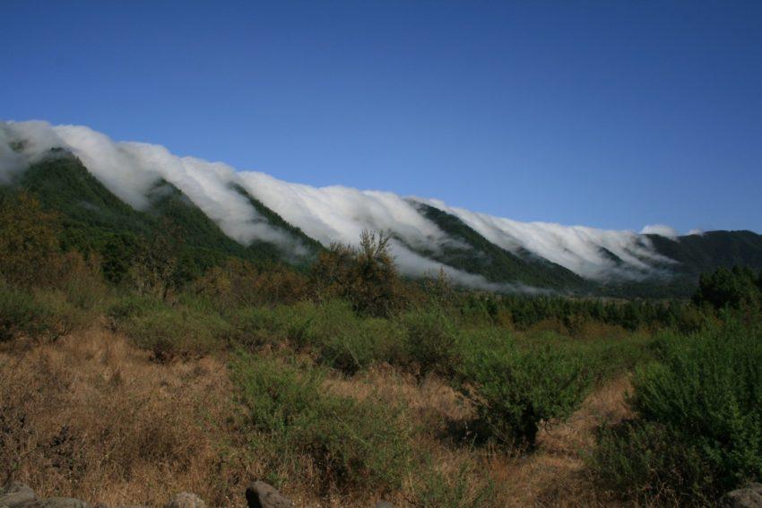 La Palma in Ost- und Westseite