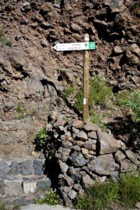 Wanderweg Nr. 31 führt uns zu den Cuevas Blancas