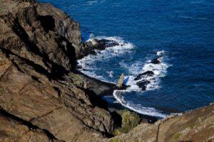 Blick auf dei Playa de La Caleta