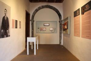 Kleine Ausstellung zu 120 jahren Telefonie auf La Palma im Museo Insular Santa Cruz