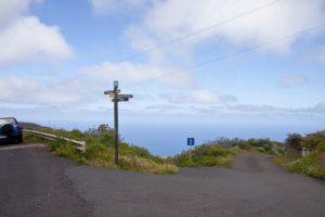 Cruz del Calvario - Weg nach Echedo