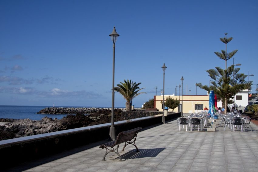 La Restinga - Hafenpromenade