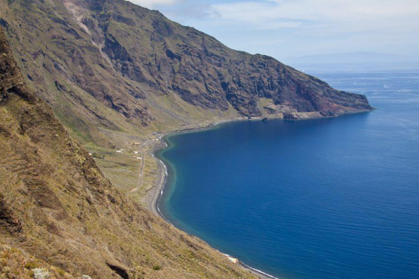 Nordende Las Playas mit Roque de la Bonanza