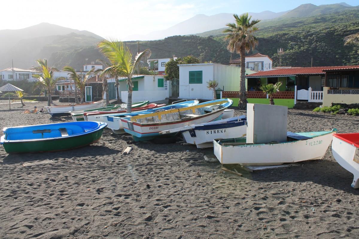 Salemera, uriges Fischerdorf La Palma