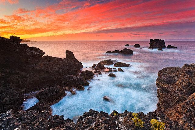 Naturschauspiel aif Gran Canaria