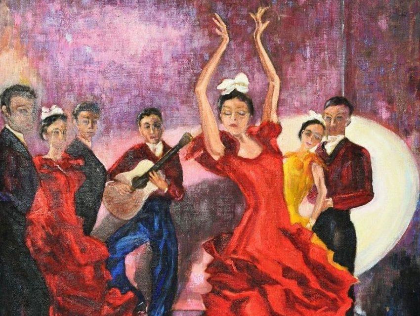 Tanz Flamenco