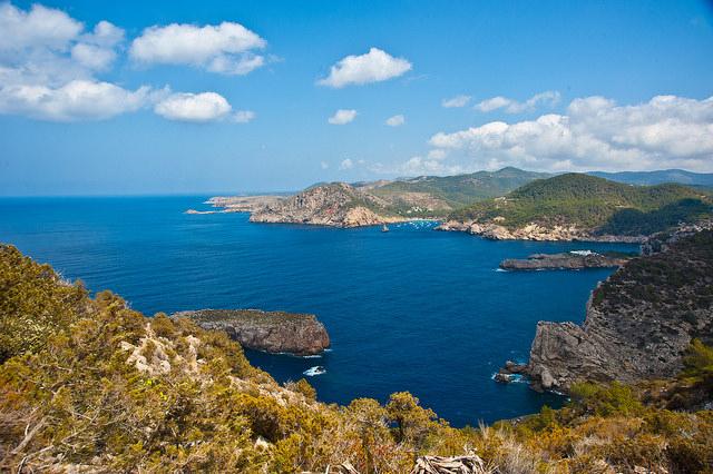 Landschaft von Ibiza