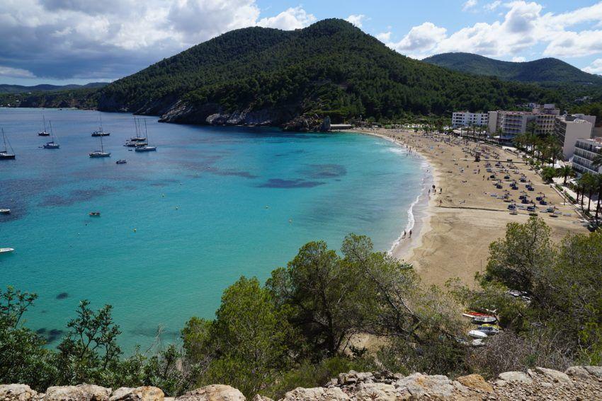 Strand in Ibiza