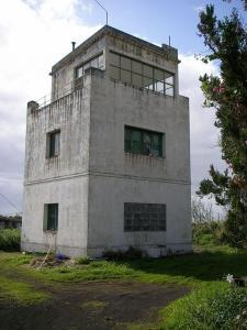 Alter Tower Flughafen Buenavista de Arriba