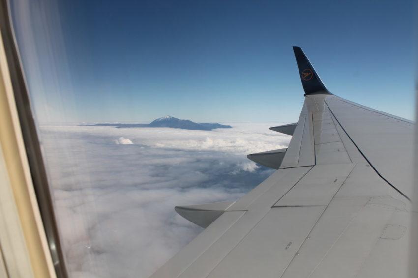 Teide in den Wolken