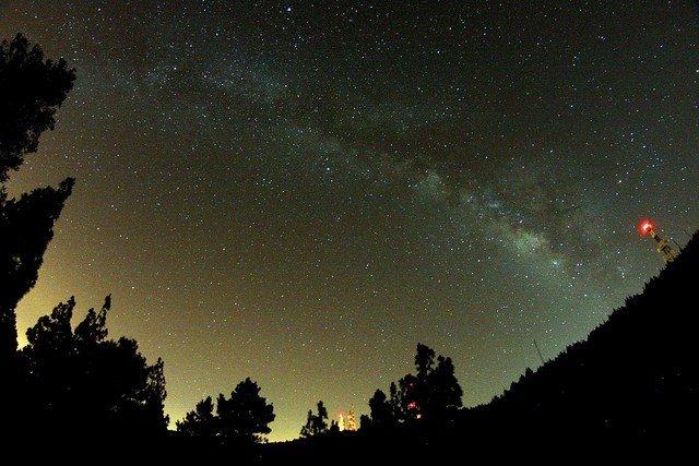 Milchstrasse Ansicht von Gran Canaria