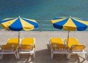 Strandliegen Playa de Amadores