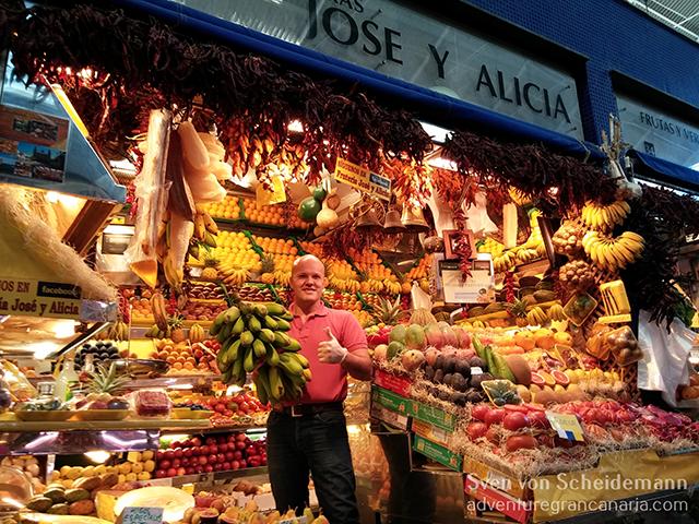 Mercado de vegueta in Las Palmas de Gran Canaria