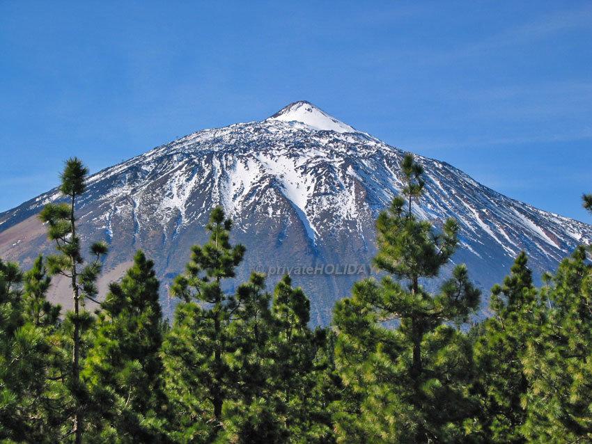 Der Teide mit Schneehäubchen