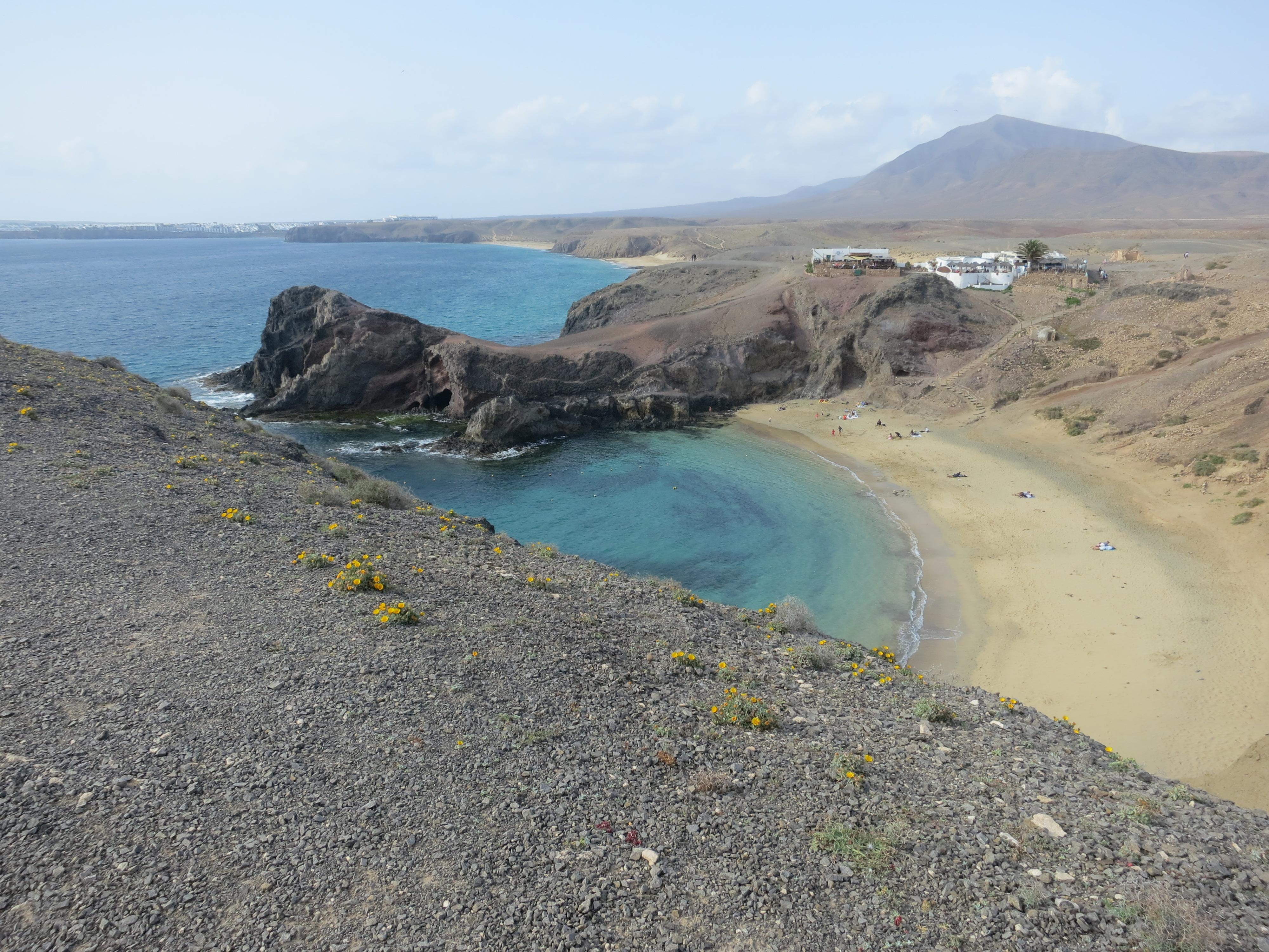 Playa de Papagayos.