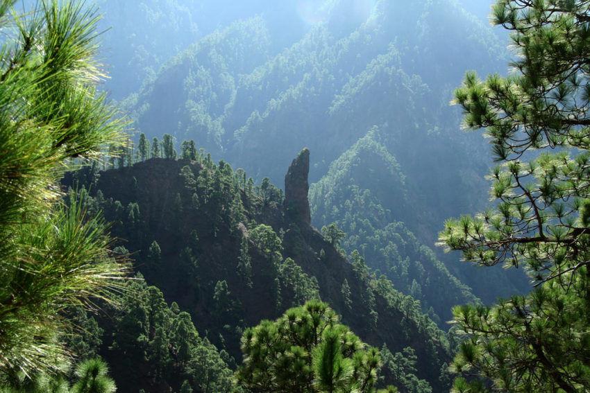 Roque de Idafe Caldera de Taburiente