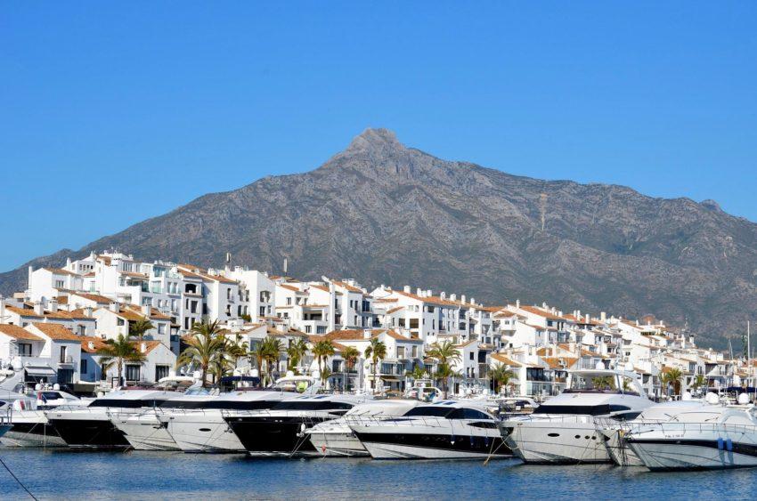 Puerto Banús Marbella Spanien Malaga
