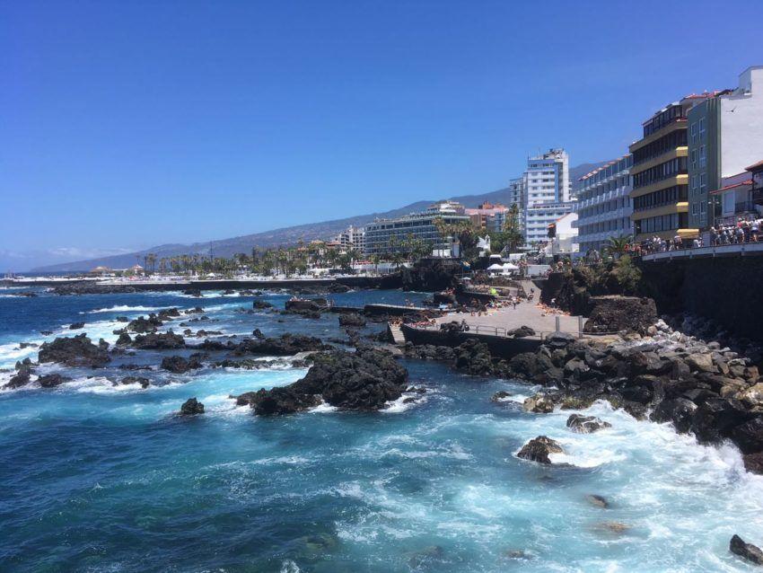 Stadtstrand Playa San Telmo