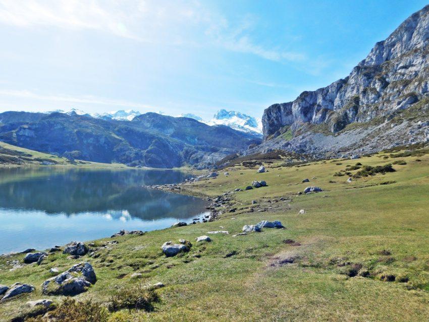 Nordspanien Asturien See