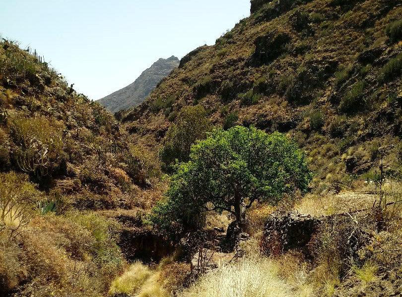 Weg der Wanderung durch das Tal