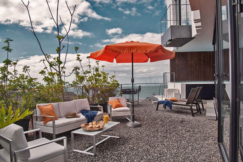 Terrasse in eine Villa