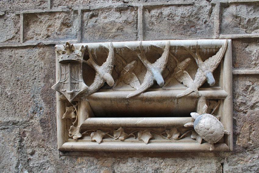 Briefkasten Barcelona