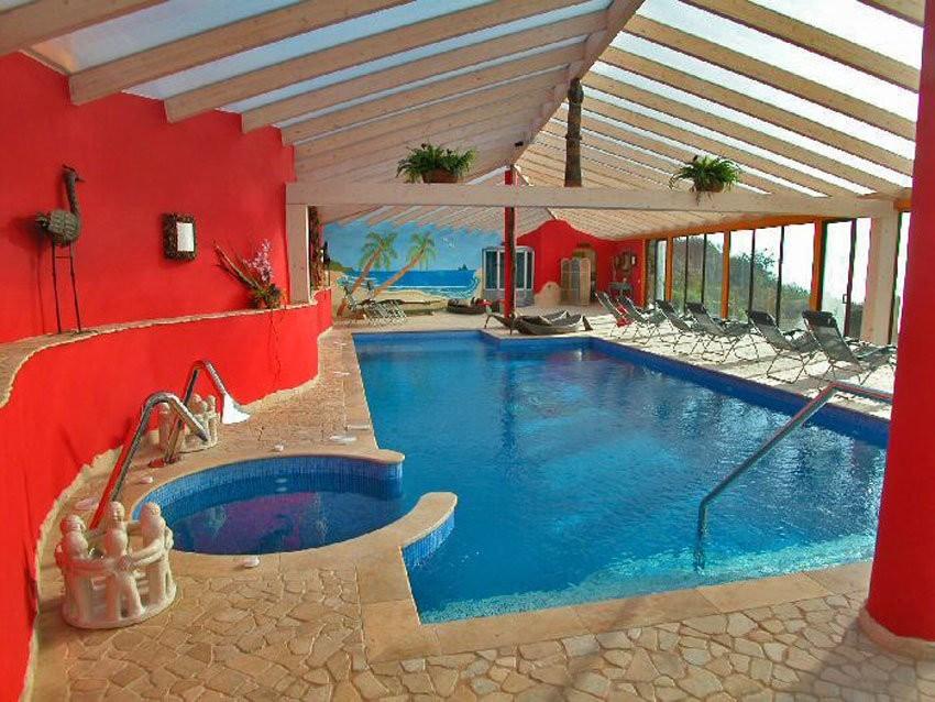 Pool auf eine Luxusfinca