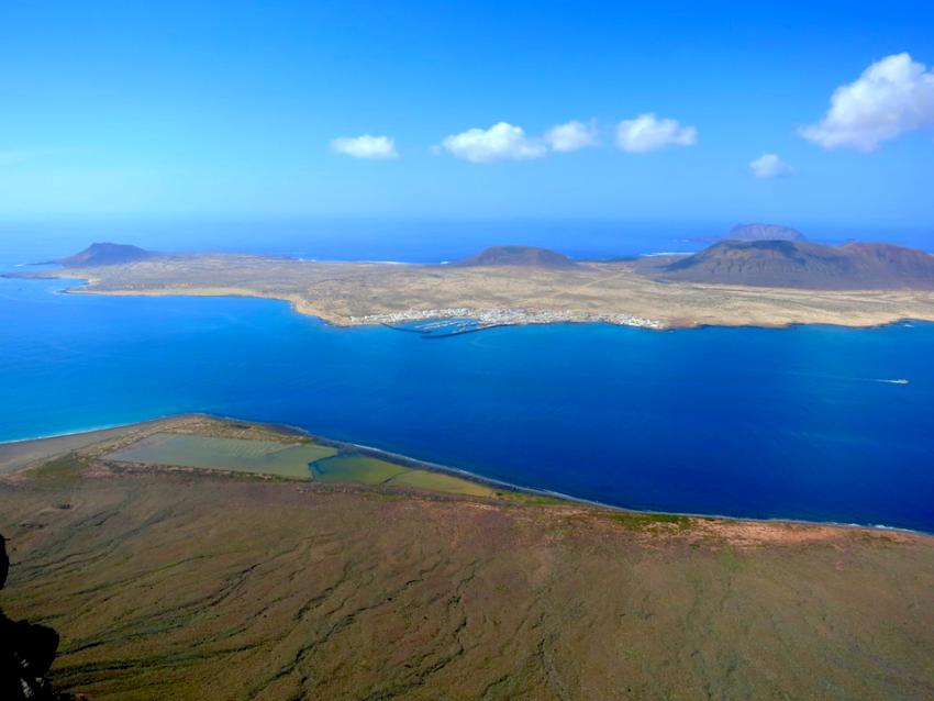 La Graciosa von Lanzarote aus gesehen