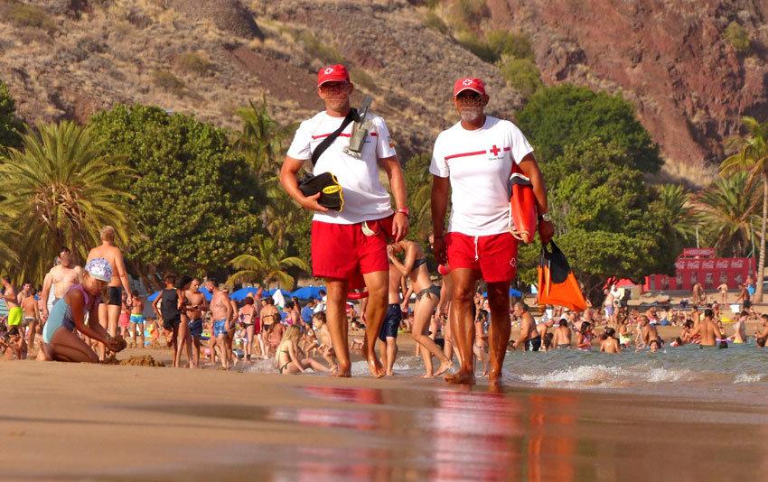 Rettungsschwimmer sorgen für weniger Badeunfälle
