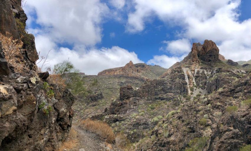 Aussicht Barranco seco